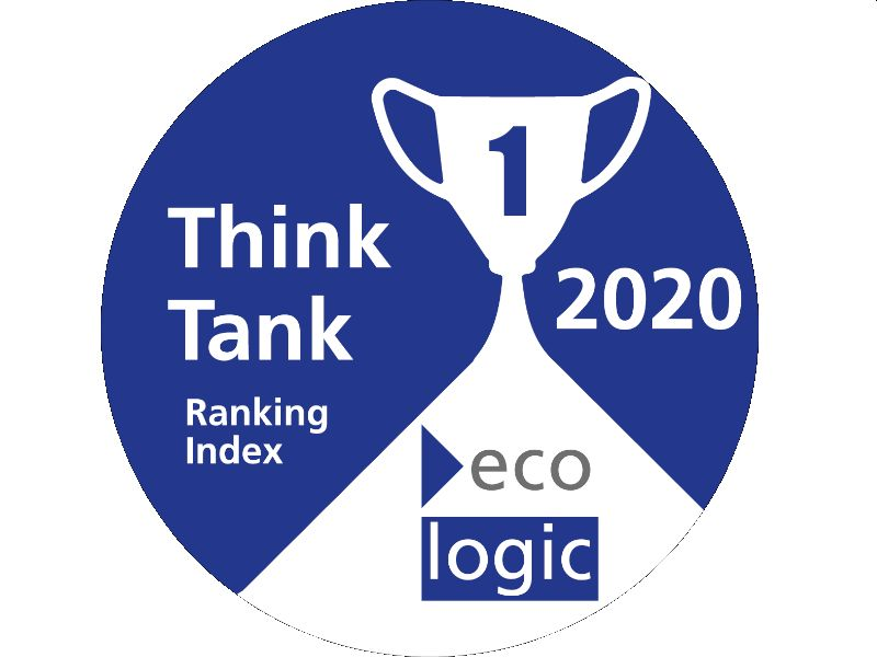 Ecologic Institute #1 Environmental Think Tank in 2020 Ranking