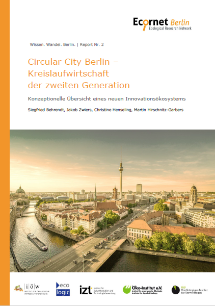 Publication Cover with a photo of the city of Berlin