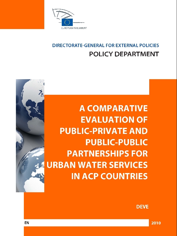 ppp for urban water Public-private partnerships for urban water utilities: a review of experiences in developing countries (2010) this report analyzes the market growth of ppps in the developing world since 1990, and the performance of more than 65 large water ppp projects―representing more than 100 million people―for access, service quality, operational.